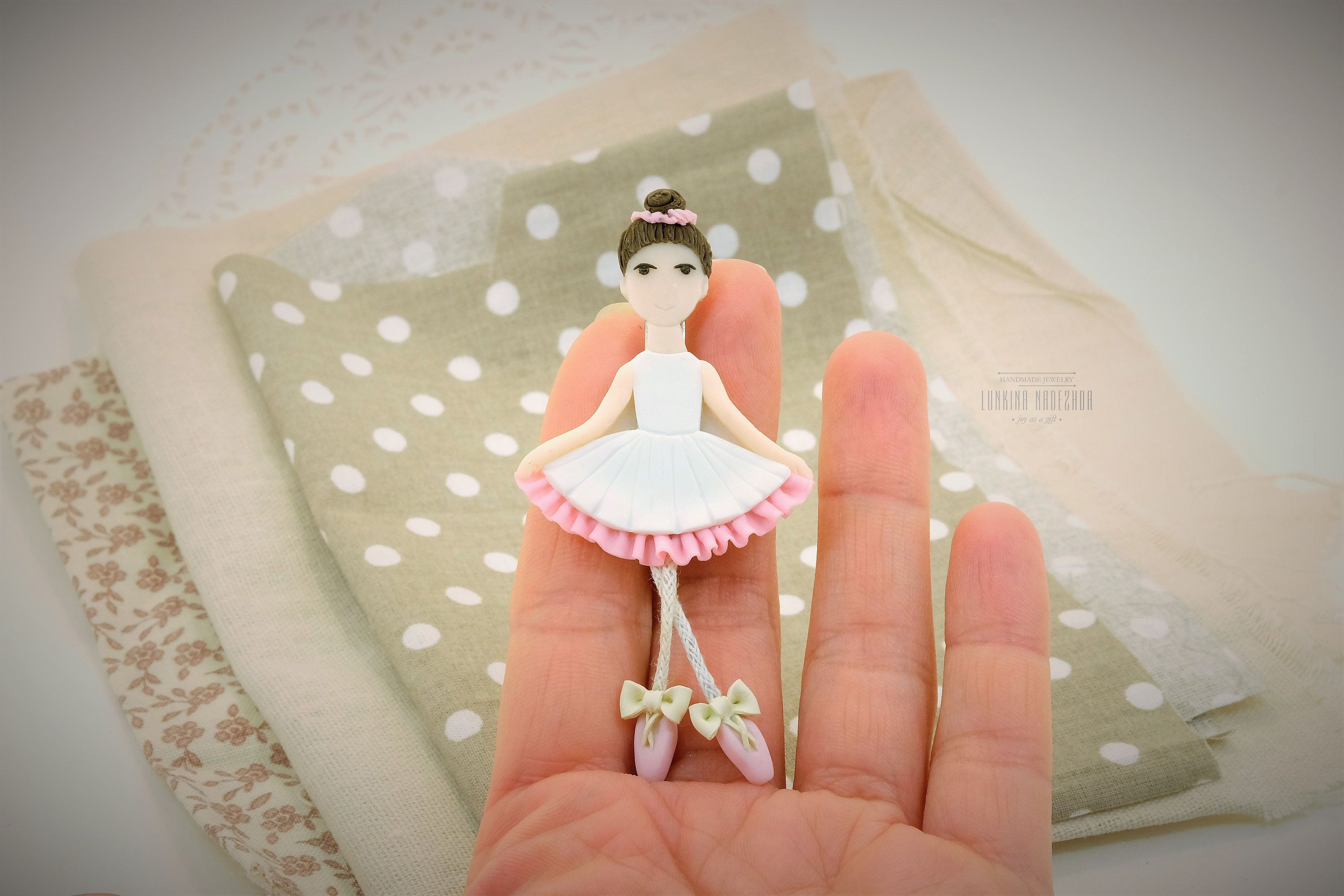 Ballerina Ballet Dancer Pin