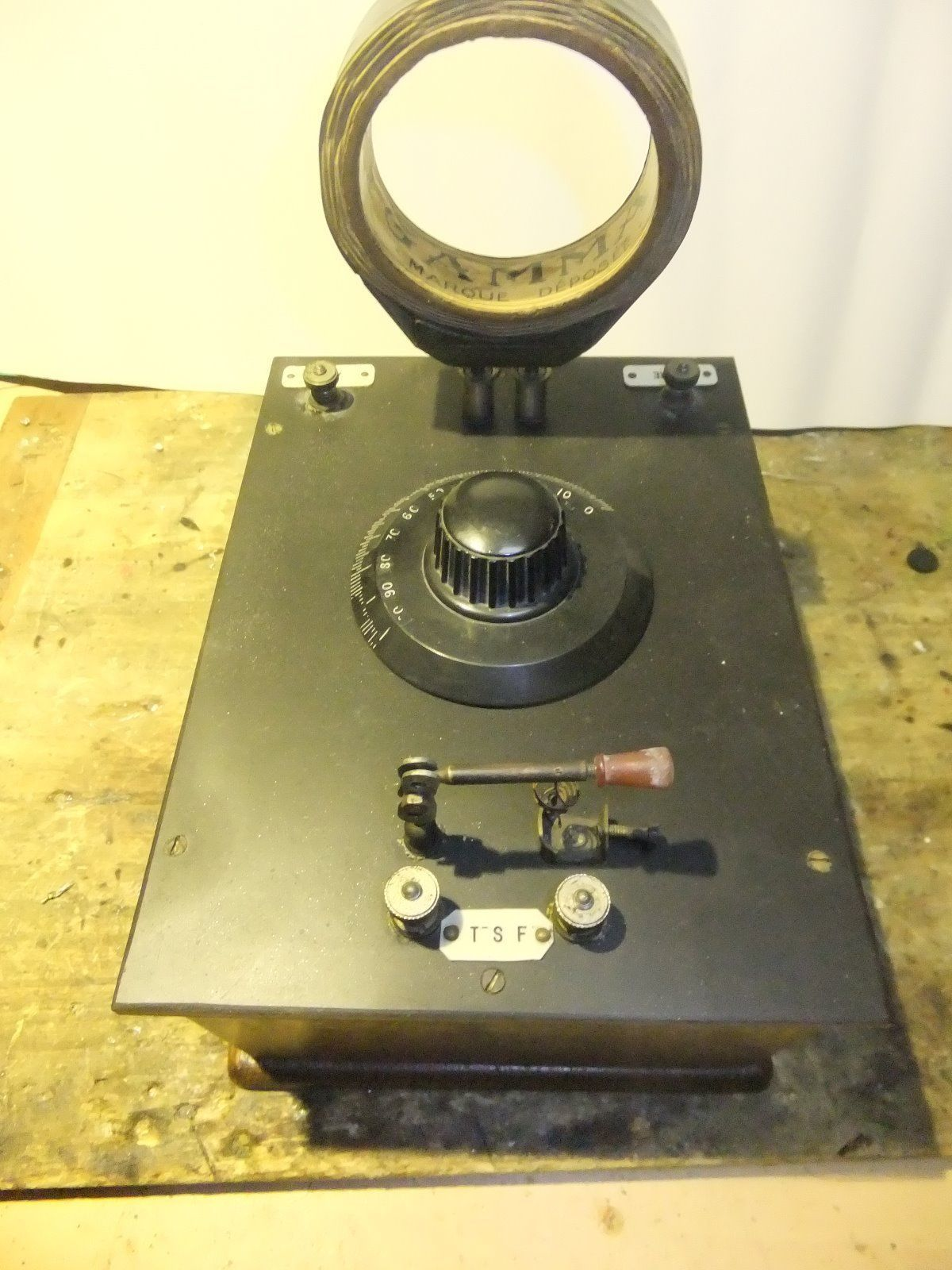 Detektor Receiver, 20er Jahre.
