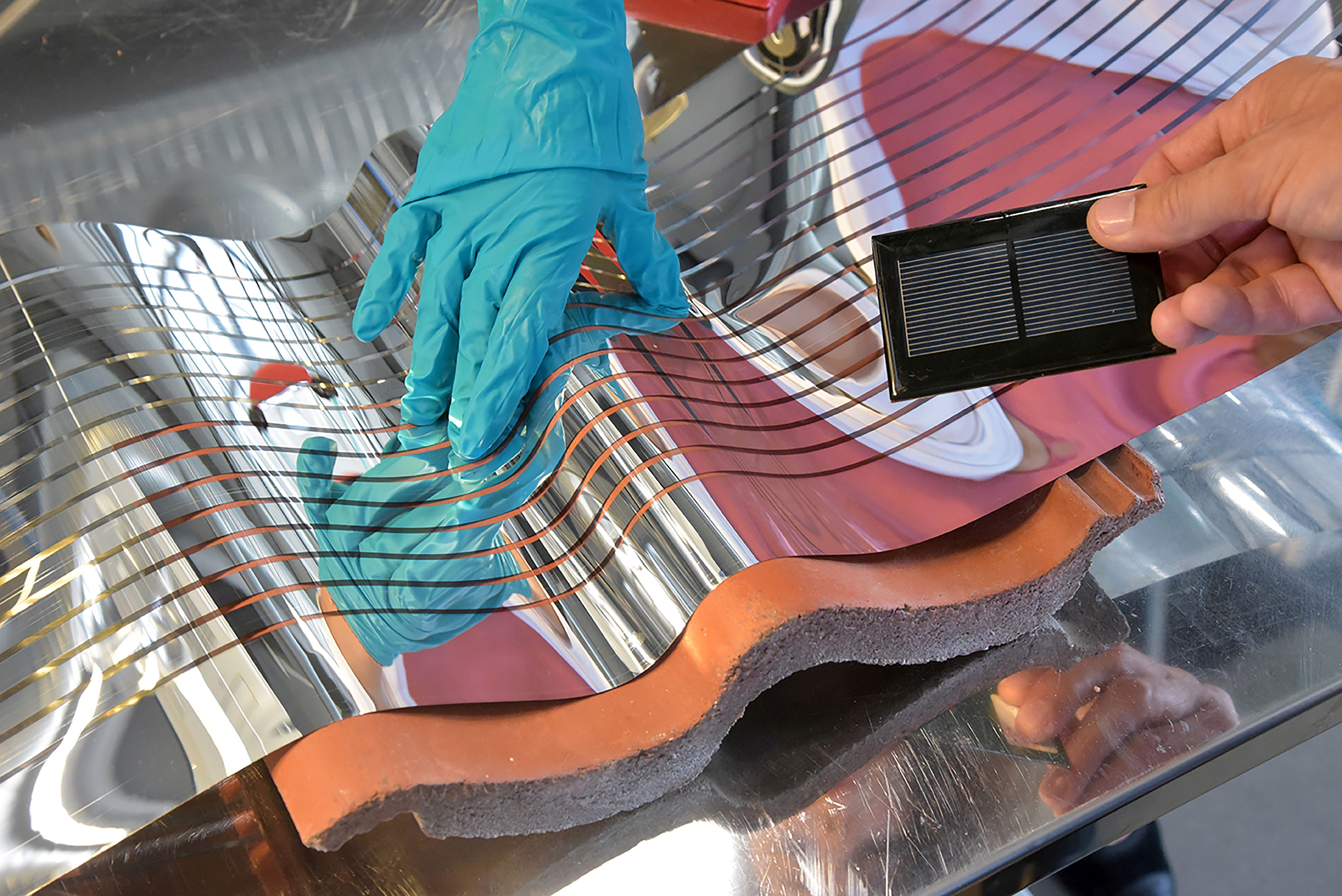 Arbeitstagung Zu Flexiblen Solarzellen Und Leds Auf Der Energiemesse
