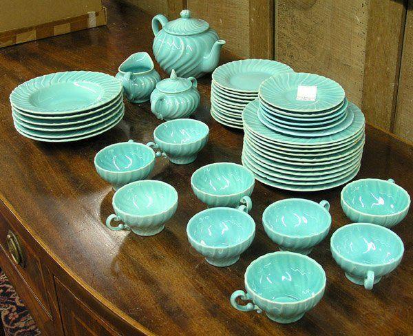 6191 Franciscan Coronado Aqua dinnerware  Lot 6191 & 6191: Franciscan Coronado Aqua dinnerware : Lot 6191 | In the ...