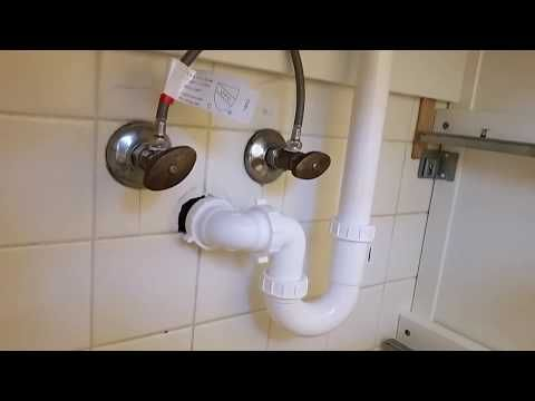 Plumbing Tips For Installing Ikea Vanity Godmorgon Problem Solving A 1 1 4 Trap Adapter Youtube Bathroom Sink Plumbing Ikea Vanity Ikea Bathroom Sinks