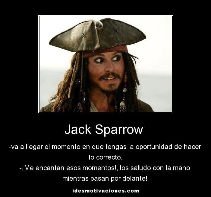 Jack Sparrow Piratas Del Caribe Frases Piratas Piratas
