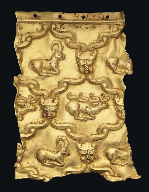 Ancient To Medieval And Slightly Later History Scythian Gold Plaque Fragment 7th Century Bc This Ancient Art Ancient Jewelry Ancient