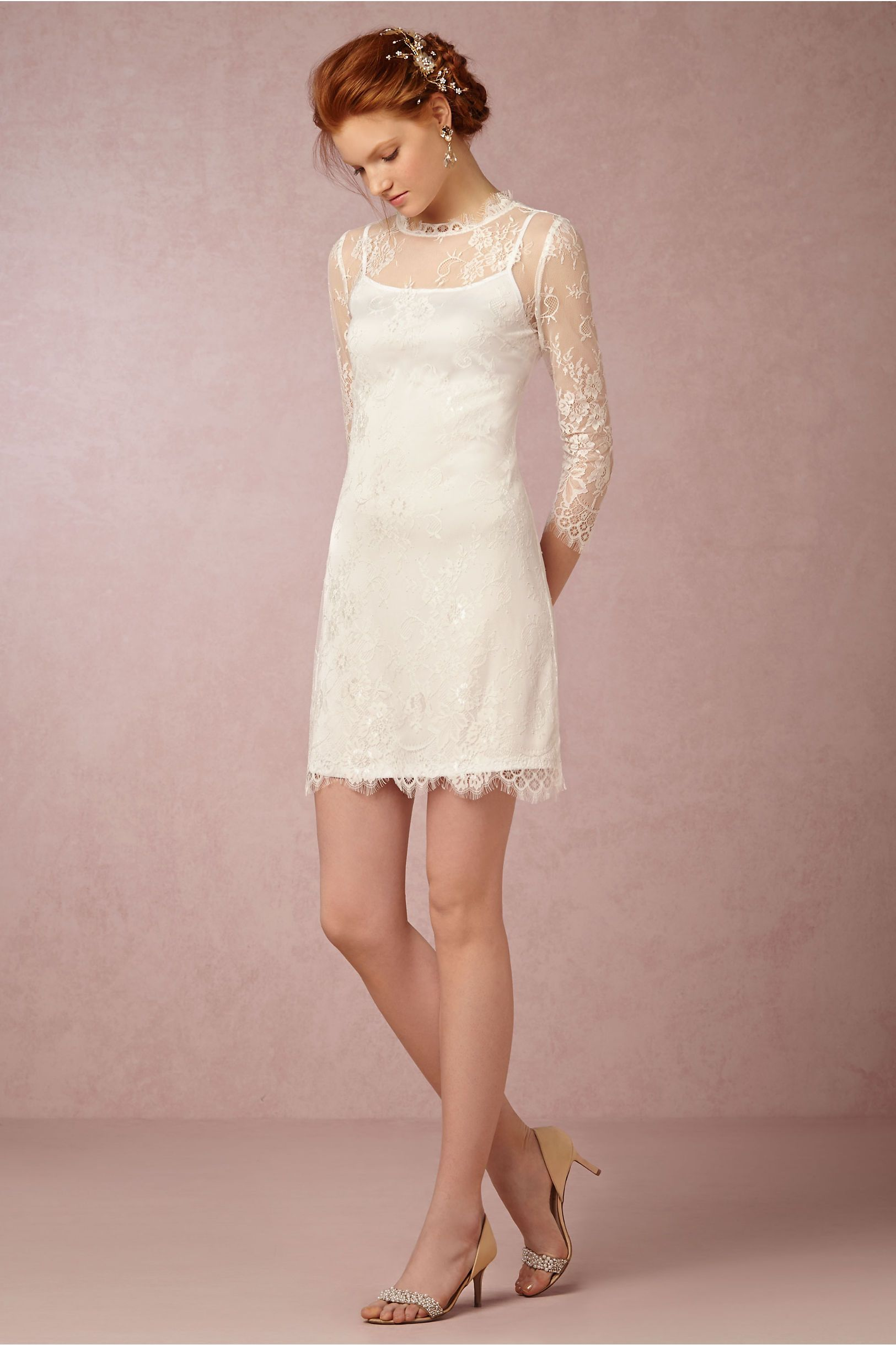 Marley Dress in New at BHLDN | Lace | Pinterest