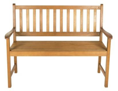 Aland Wooden Bench 5052931124695 Garden Inspiration