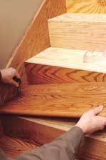 Best How To Install Hardwood Stairs At The Home Depot Hardwood Stairs Diy Stairs Installing 400 x 300