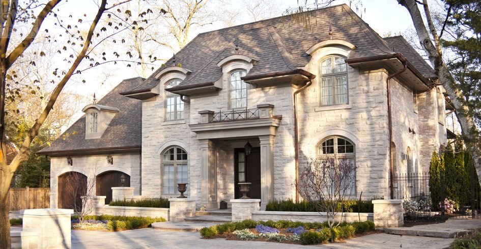 French Chateau French Country Exterior French Chateau Homes French Country House