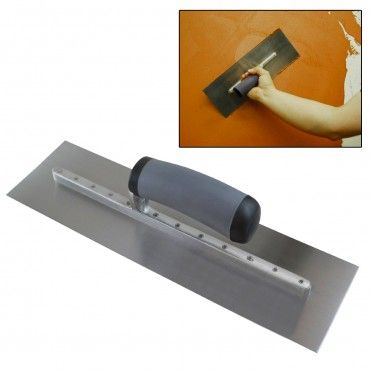 Midwest Air Stainless Steel Concrete Finishing Trowel 16 X4 New In Stock It Is Finished Concrete Stainless Steel