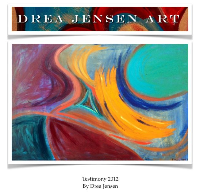Seeing things first hand is really the only way to experience things in life. Never miss a chance or opportunity to see something new.  http://dreajensengallery.artistwebsites.com/featured/testimony-2012-drea-jensen.html
