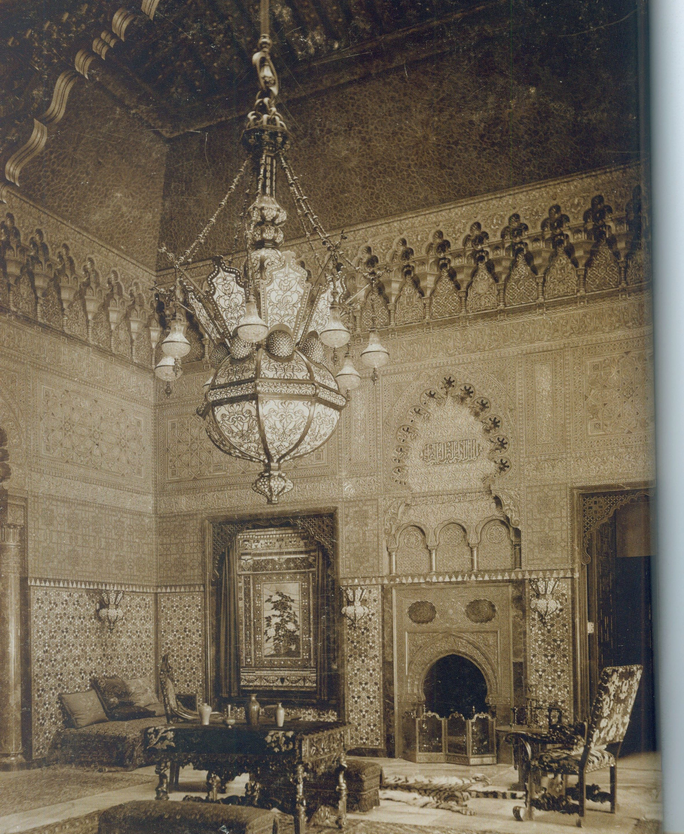George B Post Moorish Smoking Room Cornelius Vanderbilt