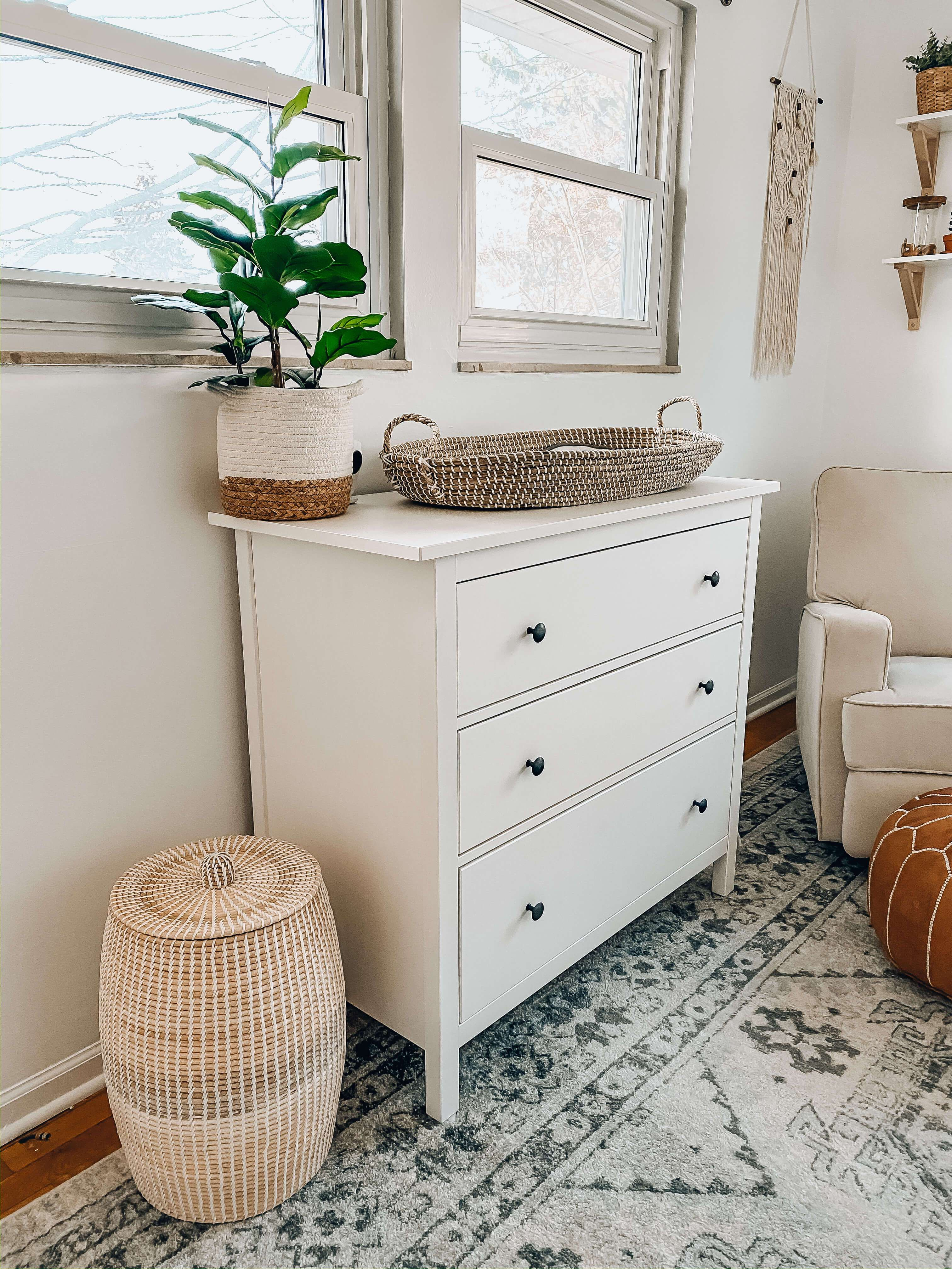 This Neutral Boho Nursery Is A Simple And Clean Nursery