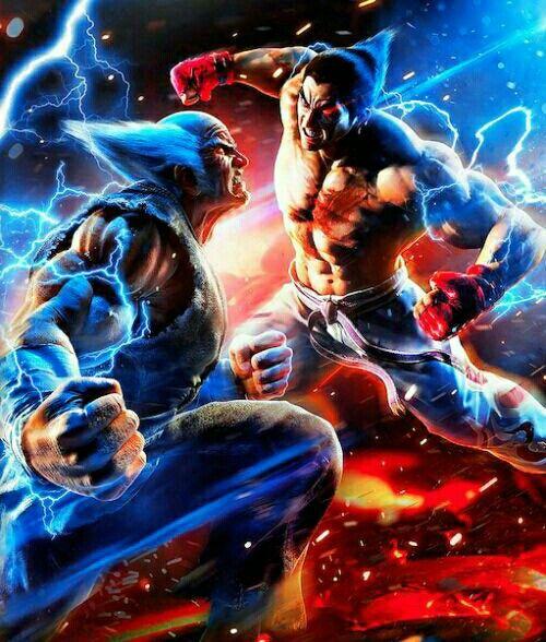 Heihachi Vs Kazuya Mishima Tekken Iron Fist Tekken 7 Video