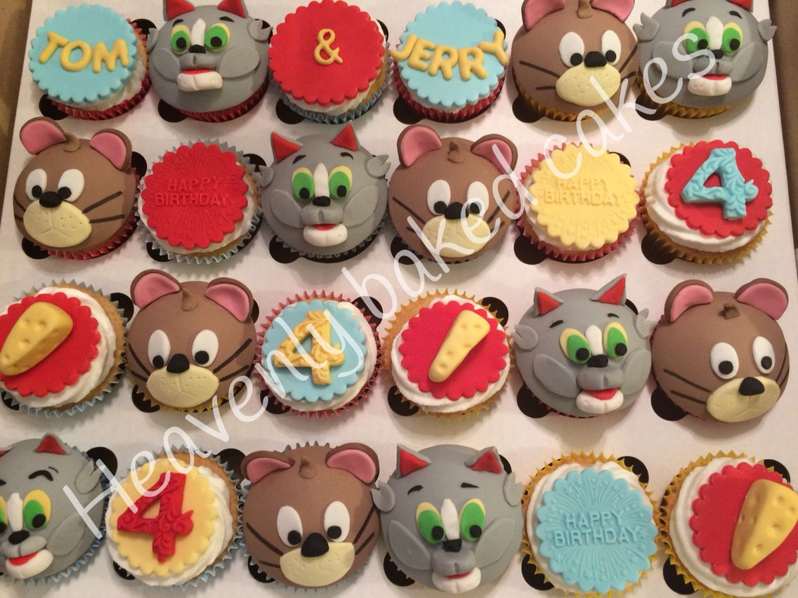 Tom and Jerry Caidens 4th birthday party ideas Pinterest