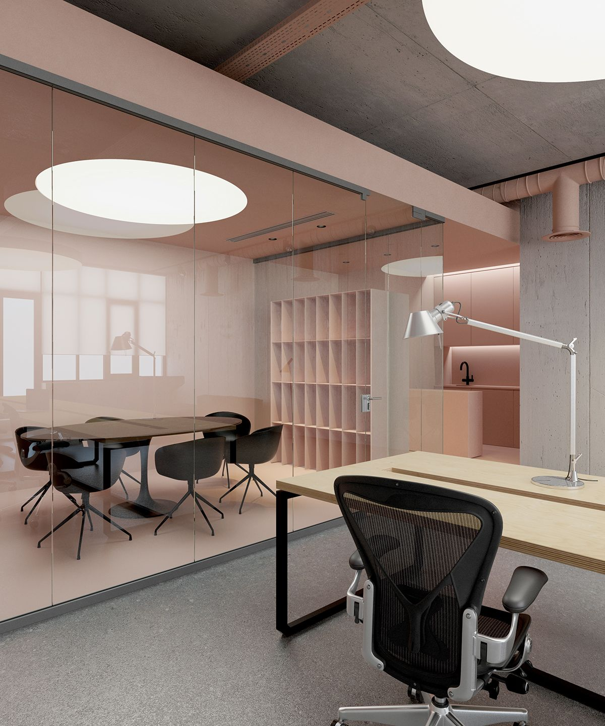 Home Office Interior: OfficeP On Behance