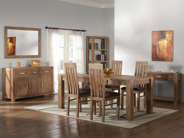 esstisch 120x80 arena akazie massiv beige geb rstet akazien holz m bel pinterest. Black Bedroom Furniture Sets. Home Design Ideas