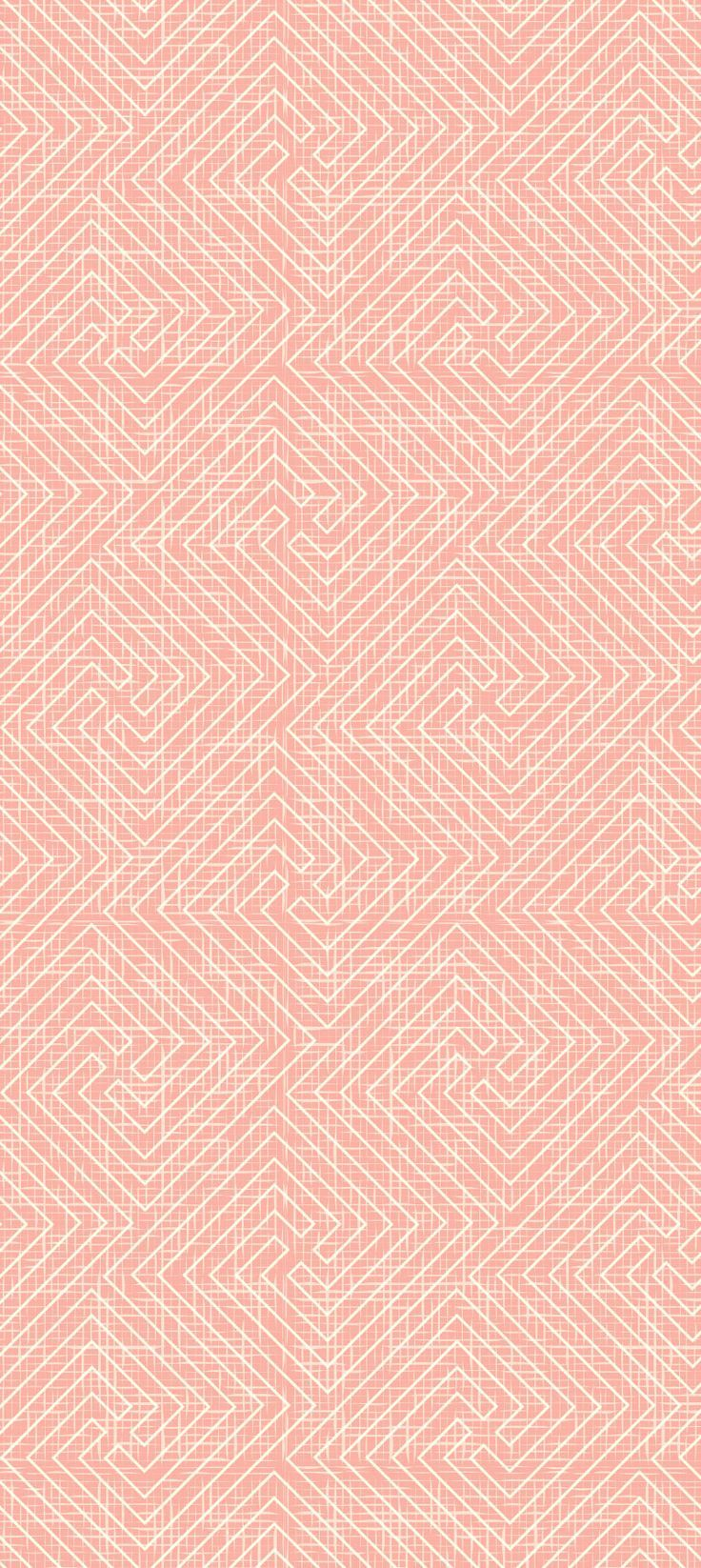 Repeating, seamless pattern with geometric labyrinth ...