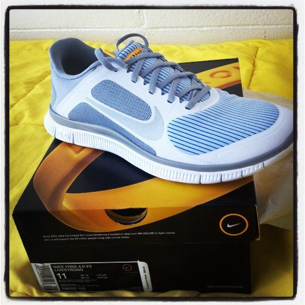 lowest price e9605 2f484 Nike Free Run 4.0 Livestrong
