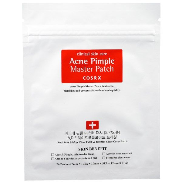 Cosrx Acne Pimple Master Patch 24 Patches Skin Care Clinic Home Remedies For Acne Pimples