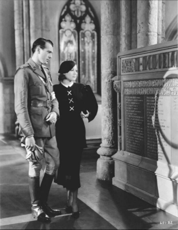 Gary Cooper Joan Crawfordtoday We Live 1933 Old