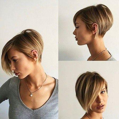 fina frisyrer för kort hår