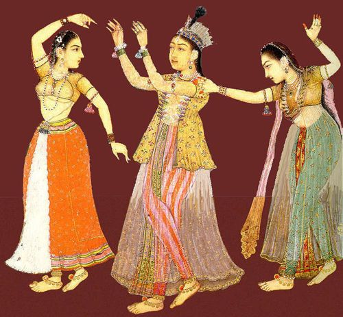 Image result for Dancing and Music under Mughal Dynasty