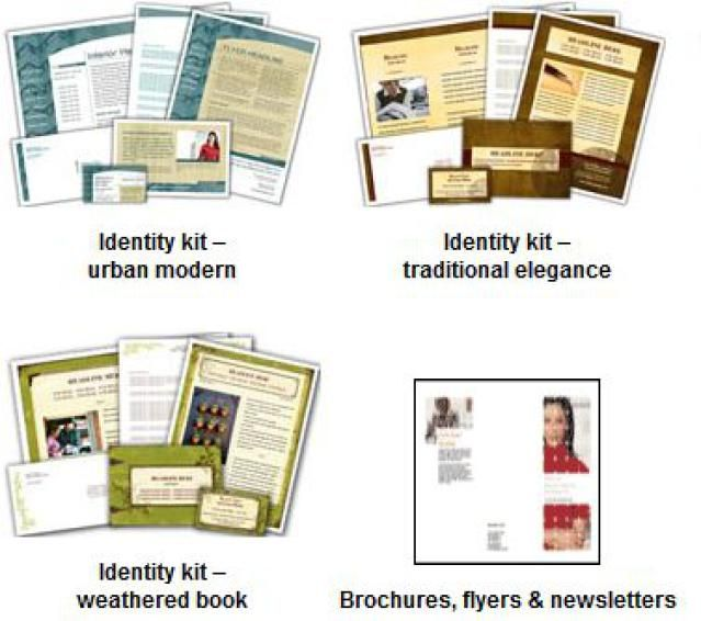 great free newsletter templates for print hp business identity kits with newsletters for publisher