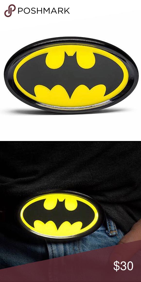 Batman Light Up Belt Buckle Bat Signal Batman Light Batman Merchandise Belt Buckles