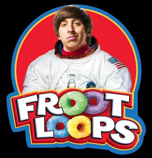 TV Classic The Big Bang Theory Howard Wolowitz Fruit Loops custom tee Big Bang Theory Shirts, Big Bang Theory Funny, The Big Bang Therory, The Big Theory, Simon Helberg, Howard Wolowitz, Froot Loops, Favorite Tv Shows, My Favorite Things