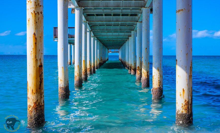 Under the Pier by Robert Hajdu on 500px - La Paz, Baja California Sur, Mexico.
