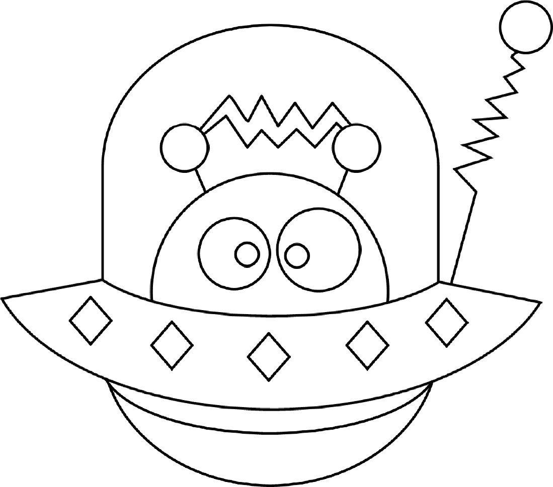 10++ Cute alien coloring pages info
