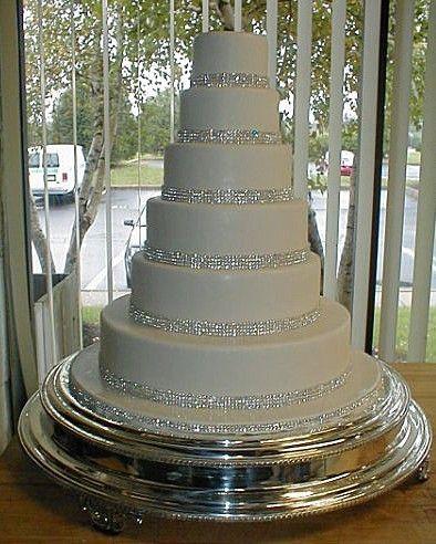 WEDDING CAKE DECORATING TRIM DIAMONTE SPARKLY  RIBBON BRIDAL EFFECT 3Yards