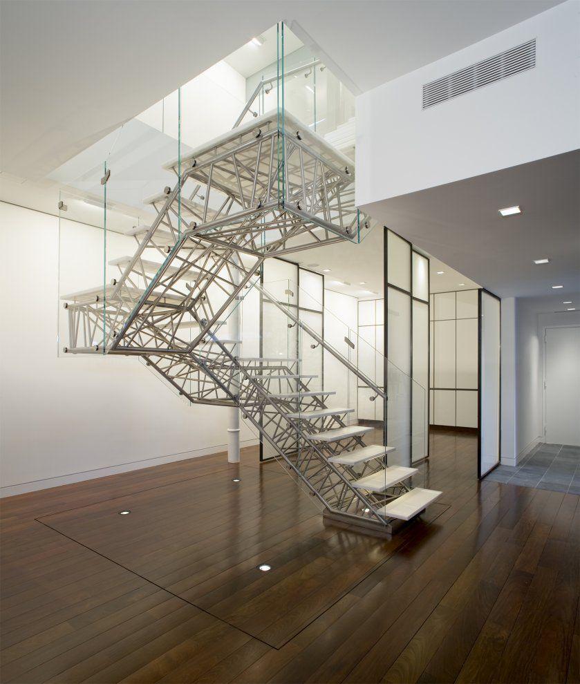 Caliper Studio Genetic Stair: Genetic Stair (New York) - Caliper Studio