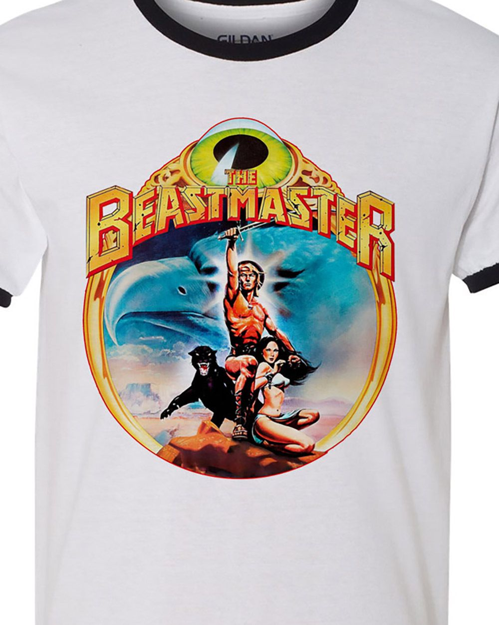The beastmaster retro vintage 80 s sci fi t shirt for sale