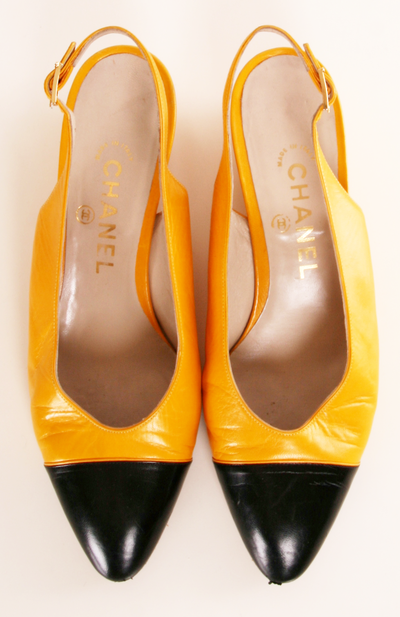 Yellow Heels / by Chanel