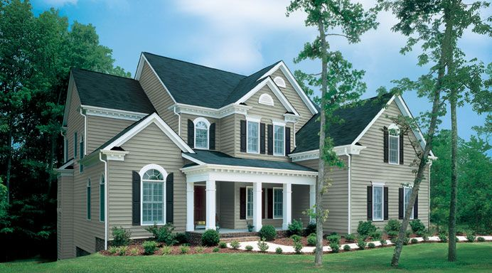 Revere Siding Is Top Quality And You Can Get Varying Levels Of Thickness All Through Suburban Whole Vinyl Brick Siding Vertical Vinyl Siding Cedar Vinyl Siding