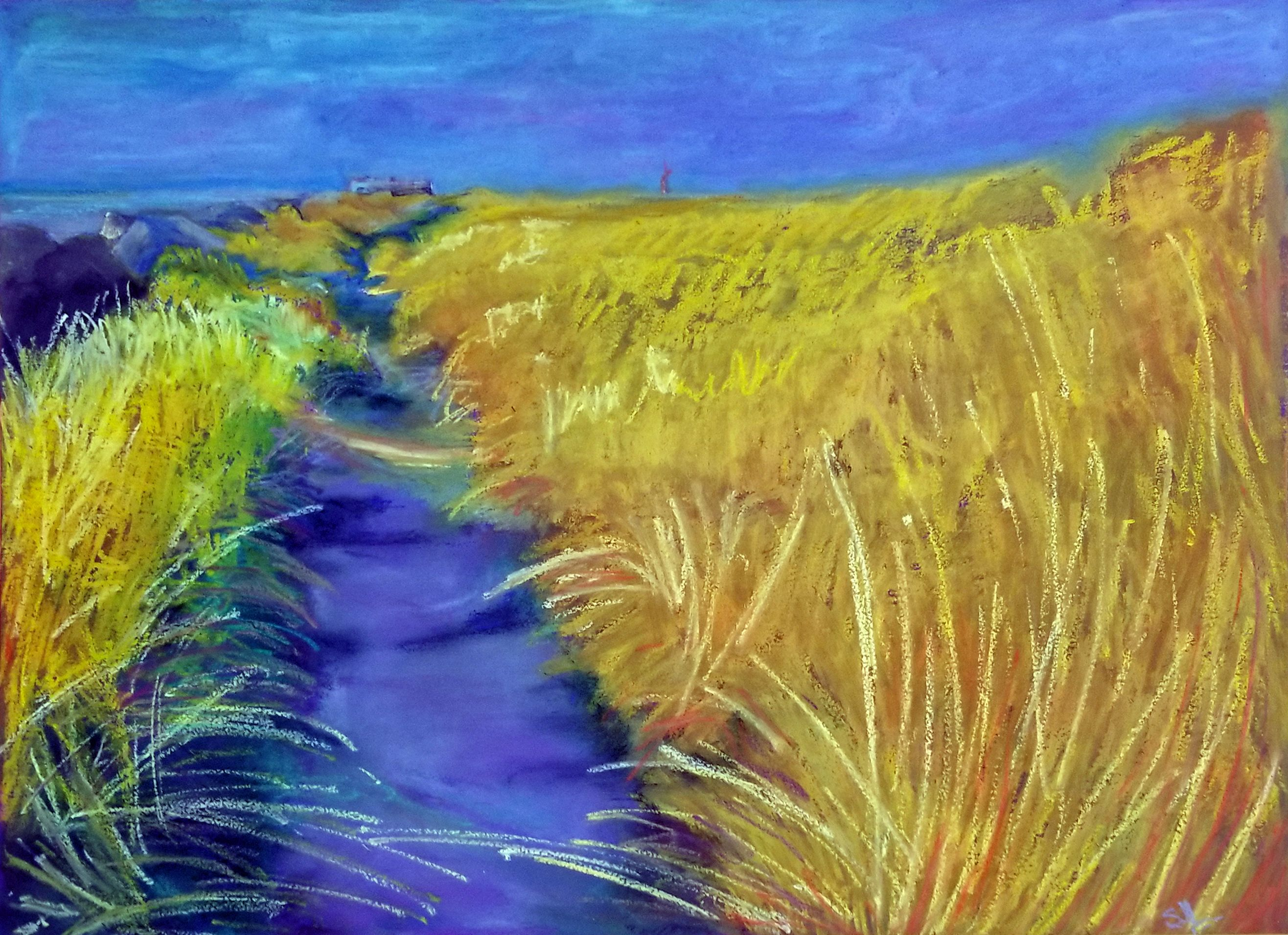 Oil Pastel By Scott Leahing 4