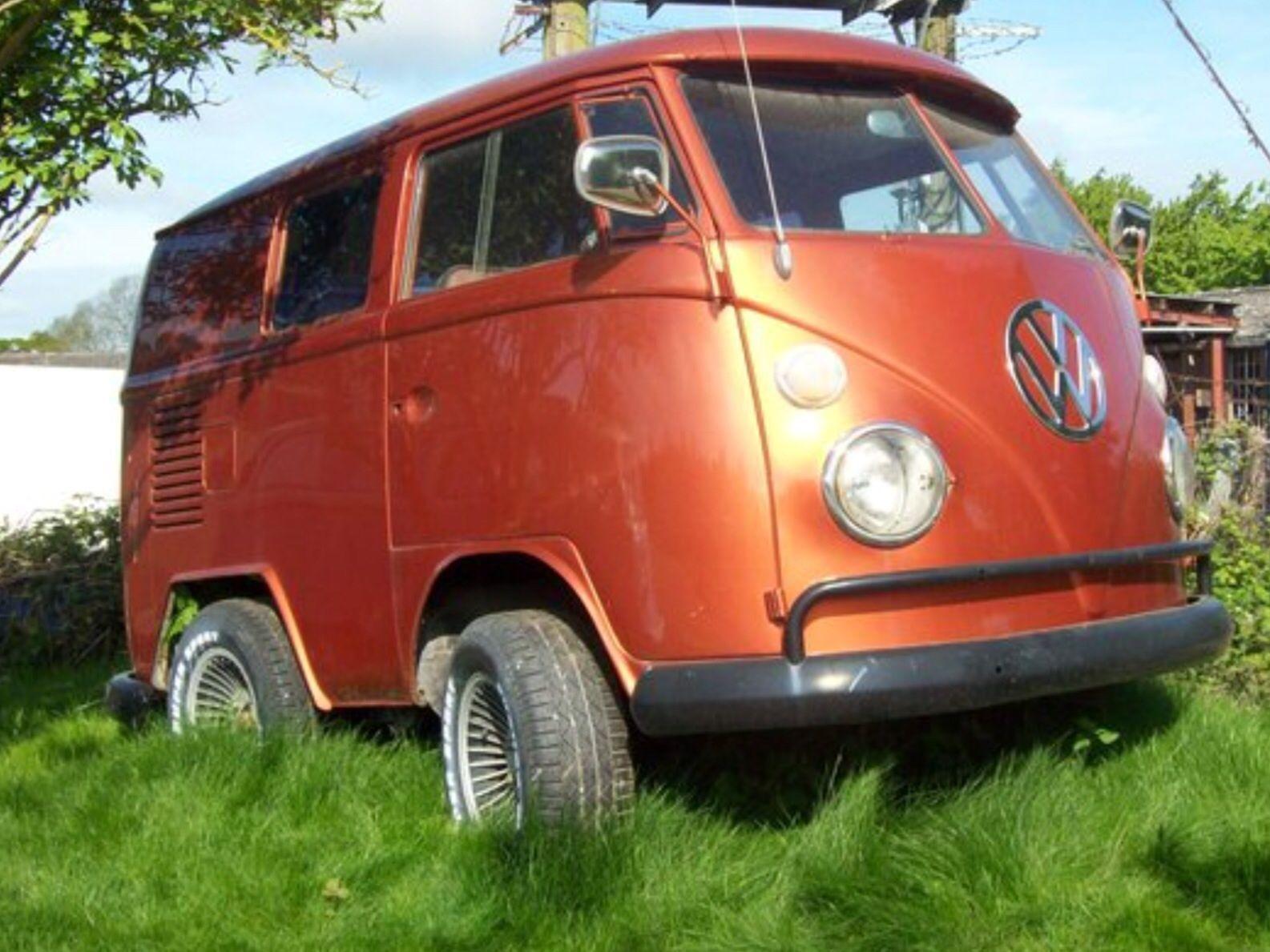 Volkswagen splitscreen custom shorty promotion vehicle 1967 project ...