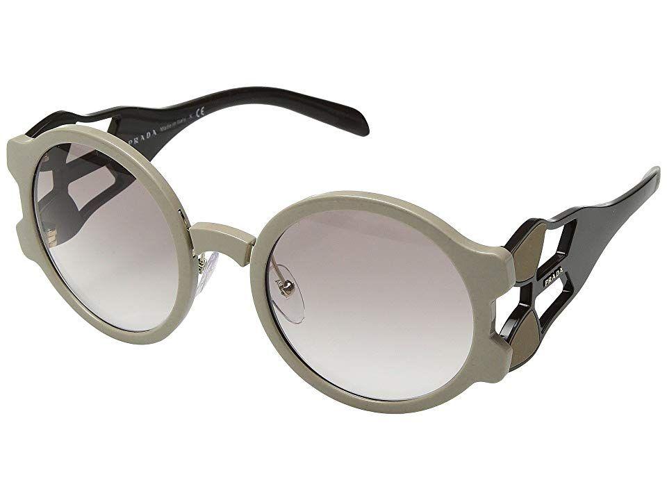 8c9a5b0abc94 Prada 0PR 13US (Beige Brown Clear Gradient Brown) Fashion Sunglasses. Sway