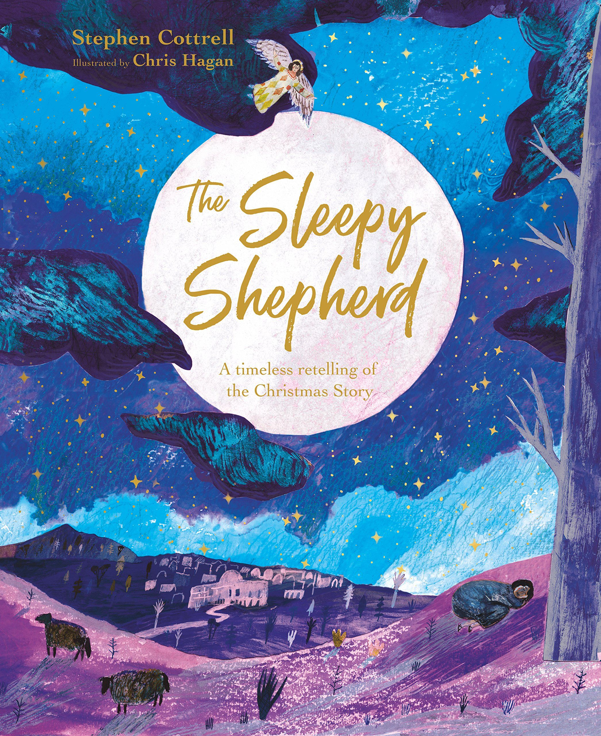 The Sleepy Shepherd is so dozy he completely misses the