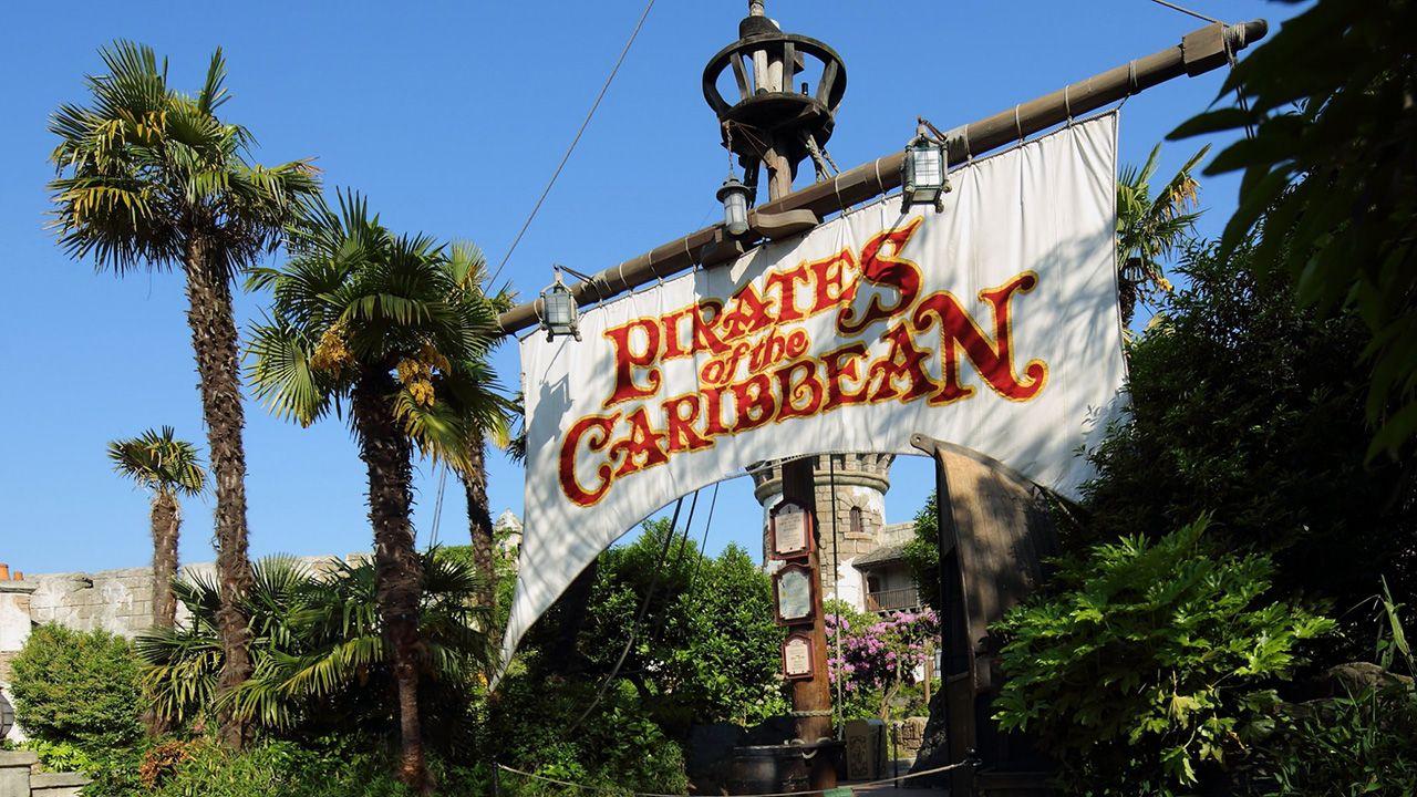 Pirates of the Caribbean Ride at Disneyland Paris