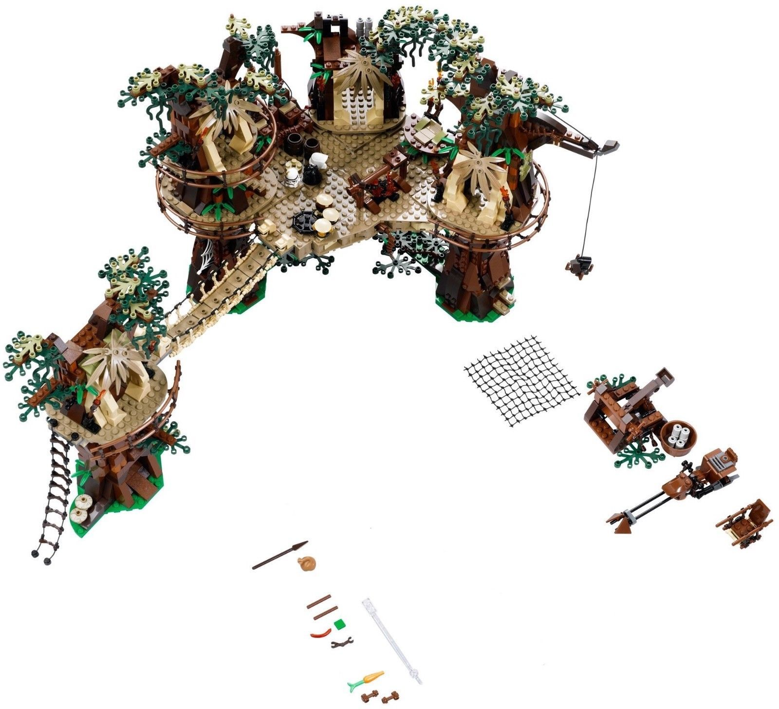Lego Star Wars Ewok Village 10236 Ucs Playset New No Minisbox
