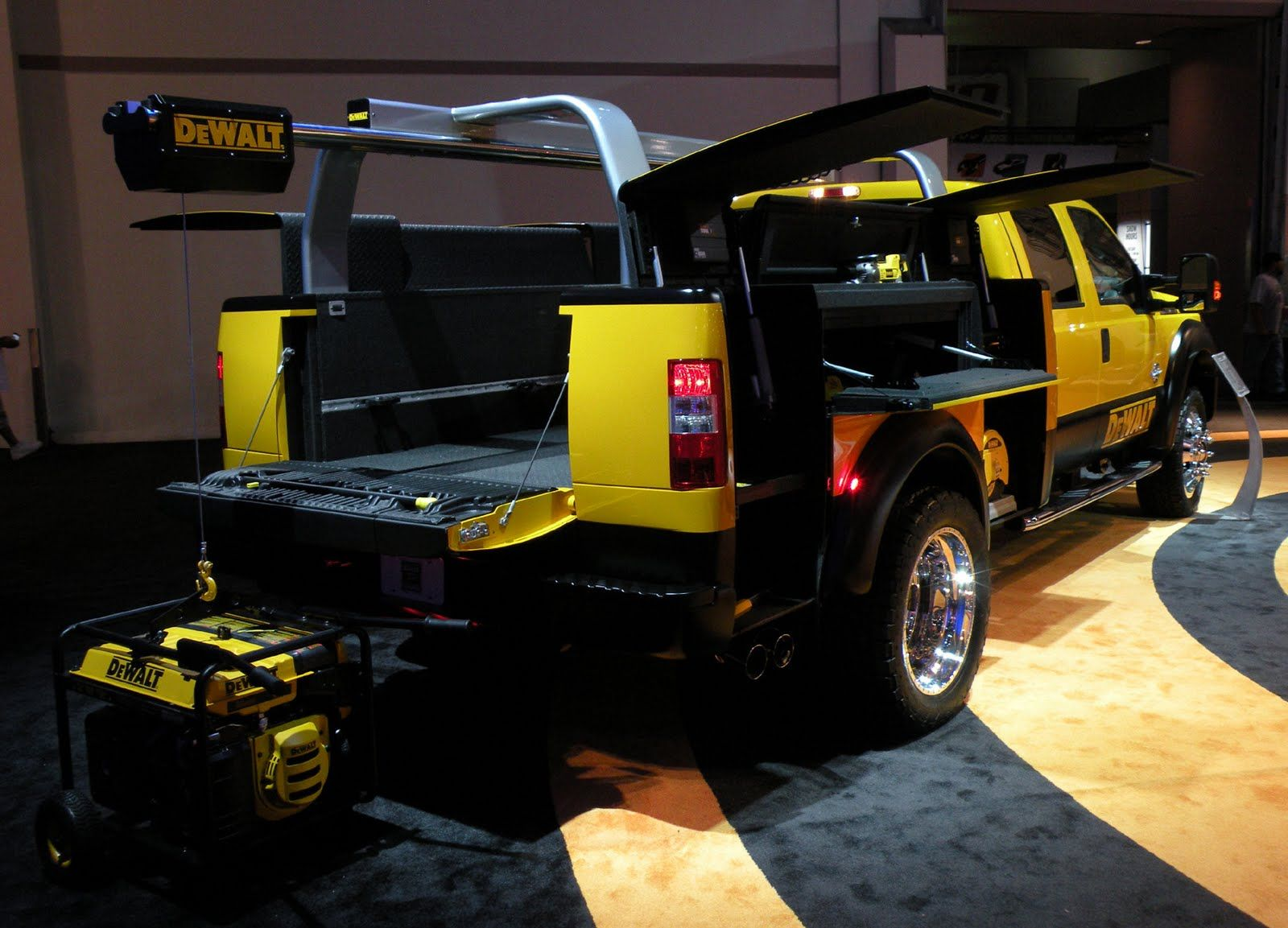 Just a car guy The DeWalt truck at SEMA... wow. Pickup