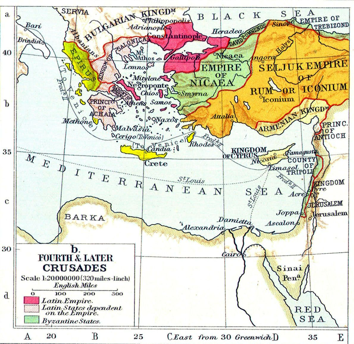 Fourth And Later Crusades