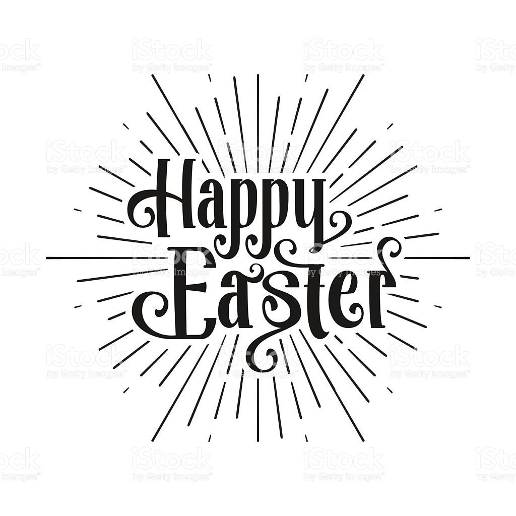 Happy Easter Greeting Card Easter Sale Hand Drawn Logo Lettering Happy Easter Greetings Easter Greeting Cards Easter Drawings