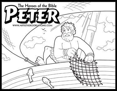 The Heroes Of Bible Coloring Pages Paul