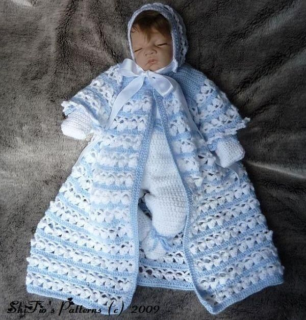 Crochet Baby Layette Patterns Free Provides A Crocheted Hat Pdf