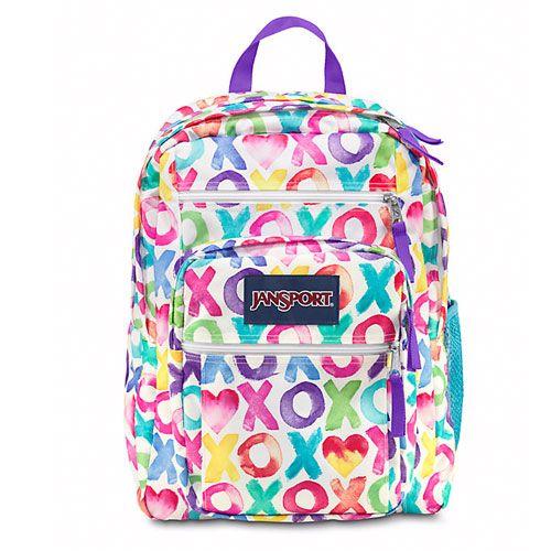 promo code 52a16 da573 JanSport Backpacks for Girls - Color  Multi O X O