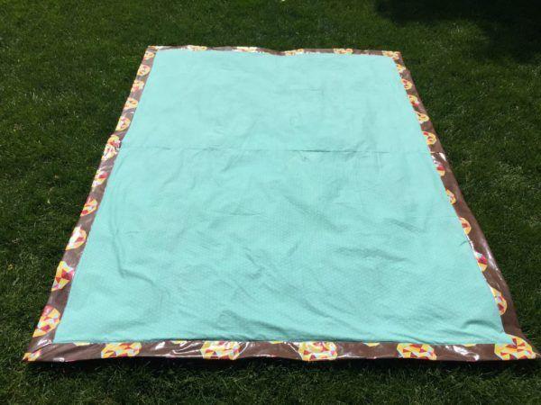 Laminated Cotton Picnic Blanket