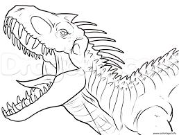 Resultado De Imagen Para Dinosaurios Jurassic Park Para Colorear Dibujo De Dinosaurio Libro De Dinosaurios Para Colorear Dibujos Significativos