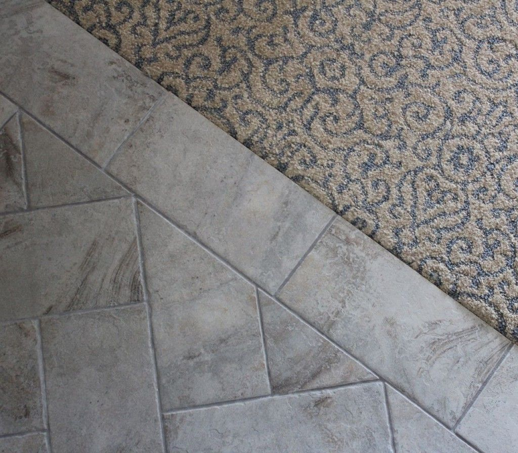 carpet to tile transition ideas